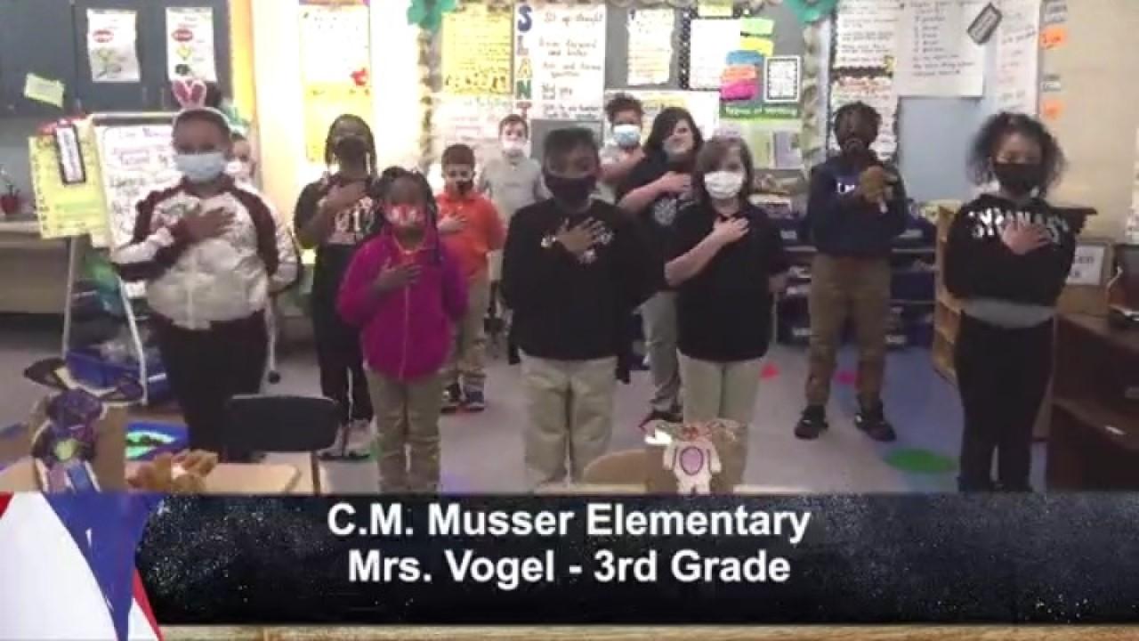 C.M. Musser Elementary - Mrs. Vogel - 3rd Grade