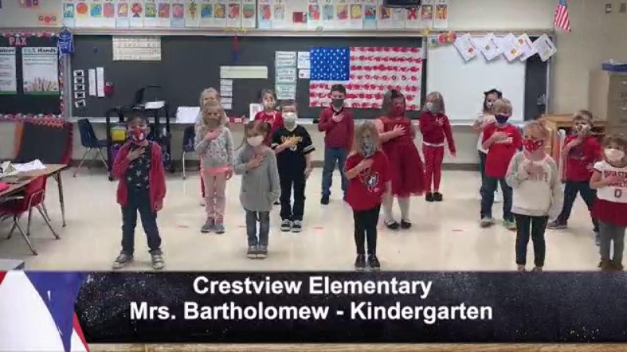 Crestview Elementary - Mrs. Batholomew - Kindergarten