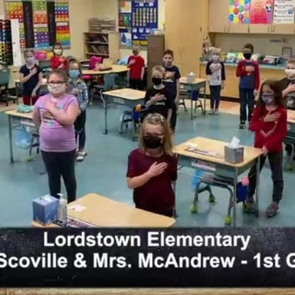 Lordstown Elementary - Mrs. Scoville and Mrs. McAndrew - 1st Grade