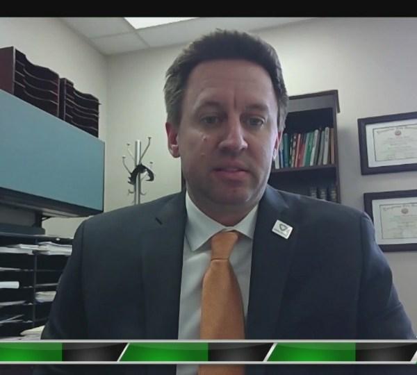Mahoning County Health Commissioner Ryan Tekac