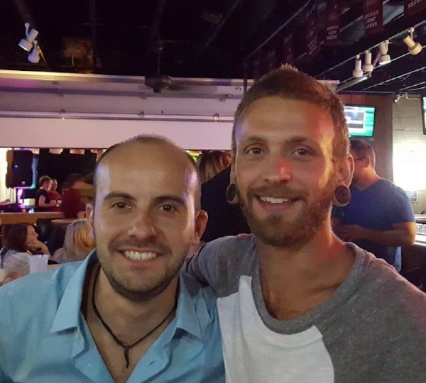 Ryan Halicki with his nephew Teegan