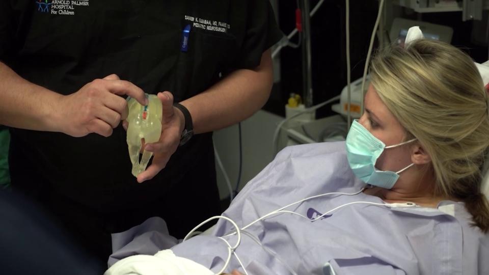 Spina bifida fetal surgery