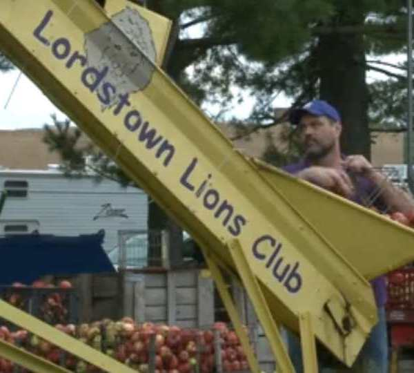 The Lordstown Apple Cider Festival is back after a year off due to COVID.