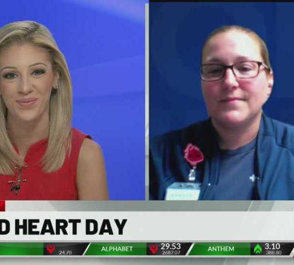 Anchor/reporter Lindsey Watson talked with Jen Rager with Mercy Health, who spoke on why heart health is so important.