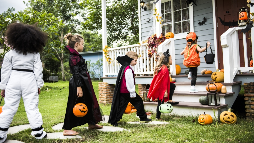 Hayrides, pumpkin patches and Halloween festivities are here, but we're safe, aren't we? This is going on outside, after all.
